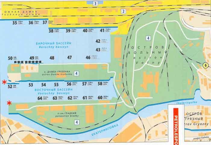 Обзор объекта «Петролеспорт»